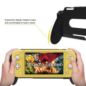 Image 4 - Portable Handheld Protective Case Anti scratch Hard ABS Cover Protector for Nintend Switch Lite Handle Holder Grip Gaming