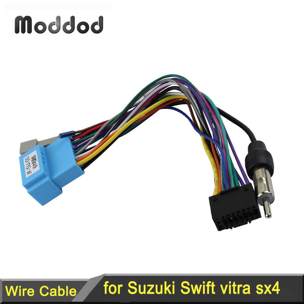Radio adaptador autoradio conector cable Suzuki Aerio alto Ignis Grand Vitara jimny