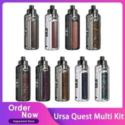 Lost Vape Ursa Quest Multi Kit 100W TC Box Mod & Ursa Pro Pod Tank with 0.15ohm UB Pro P1 Coil DTL MTL Cigarettes Vaporizer