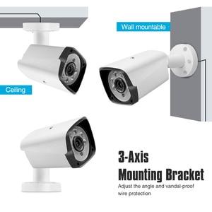 Image 3 - 4CH 1080P HDMI POE NVR Kit CCTV Security System IR Outdoor Audio IP Camera P2P Video Surveillance IP66 Waterproof Set