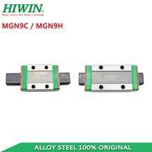 Free Shipping HIWIN MGN9C MGN9H Slide Block Carriage for HIWIN MGN9 Rail 3d Printer Parts