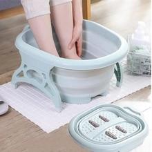Basin Massage-Bucket Bathtub Spa-Foot Folding Pedicure Sauna Household