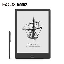 "Newest BOOX Note2 ebook Reader 10.3"" WiFi e-ink Flexible Touch Carta Screen Digital Notepad Android Front Light e-BOOK Reading(China)"