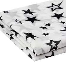 Шифоновая ткань с принтом jojo bows шифоновая для платья одежды