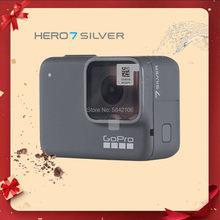 Original gopro hero 7 prata pacote especial ação câmera go pro hero7 esporte cam 4k 30fps 1080p60