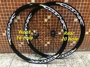 Новый 2020 Сверхлегкий дорожный велосипед V Тормозной диск тормозное колесо 700c Cosmic UST 36 мм алюминиевый сплав BMX диски велосипед колесная устан...
