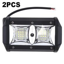 2pcs Car Truck 54W 18-LED 3030 Working Light Headlight Headlamp Waterproof IP67 12V-24V 6000K 5400LM off-Road