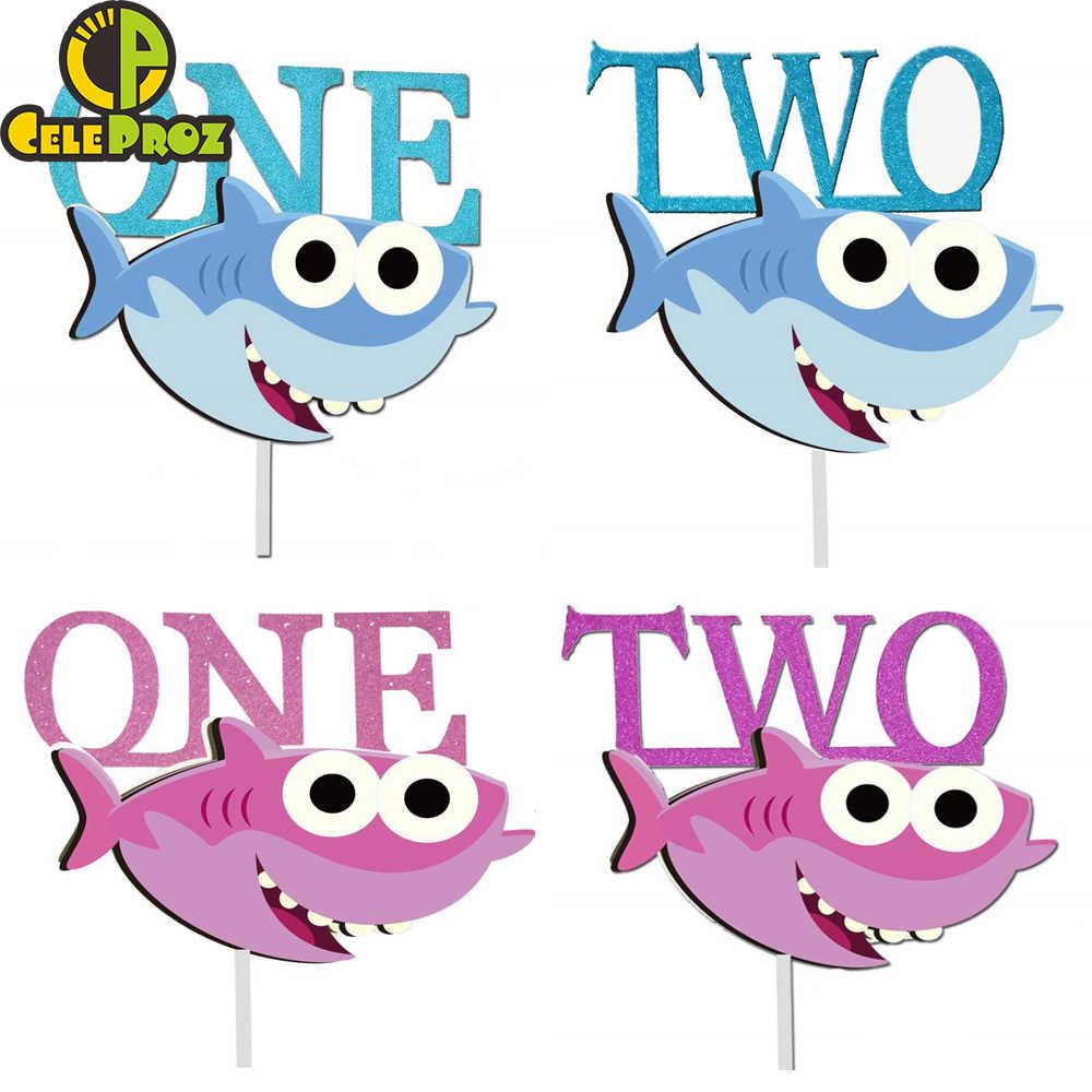 Tubarão Tema Decoração Do Partido Bandeira Empate Manto Máscara de Tubarão Balão Bebê Chuveiro Queque Carrinho Do Bolo Topper Fonte Do Partido De Aniversário Do Miúdo