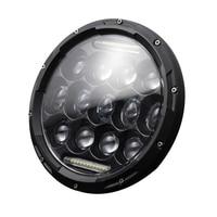 7 Inch Round Led Headlights Lamp With Drl For J eep Wrangler JK JKU TJ CJ LJ