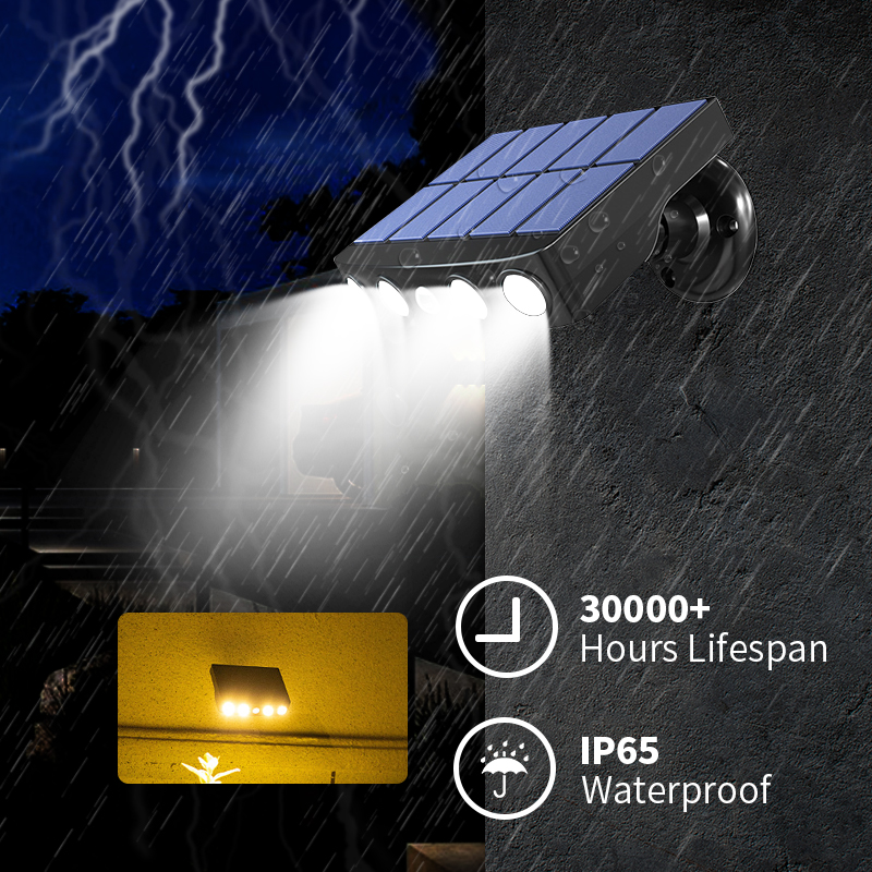 LED Solar Light Motion Sensor Outdoor Home Courtyard Lawn Garden Wall Lamp Waterproof Solar Outdoor Lighting Sensor Street Lamps