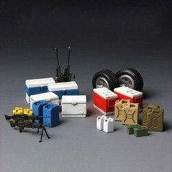 Meng SPS-014 1/35 Benodigdheden Serie Apparatuur Voor Moderne Amerikaanse Militaire Voertuigen Montage Model Building Kits Plastic Hobby Kit Diy