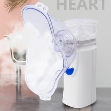 Handheld Inhaler Respirator Humidifier Child Inhaler Machine Atomizer Portable Ultrasonic Nebulizer Battery & Charging Dualpower цена и фото