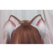 The Cat ears lolita animal ears hair band harajuku lovely cos lolita head trim clip kc express gothic ears