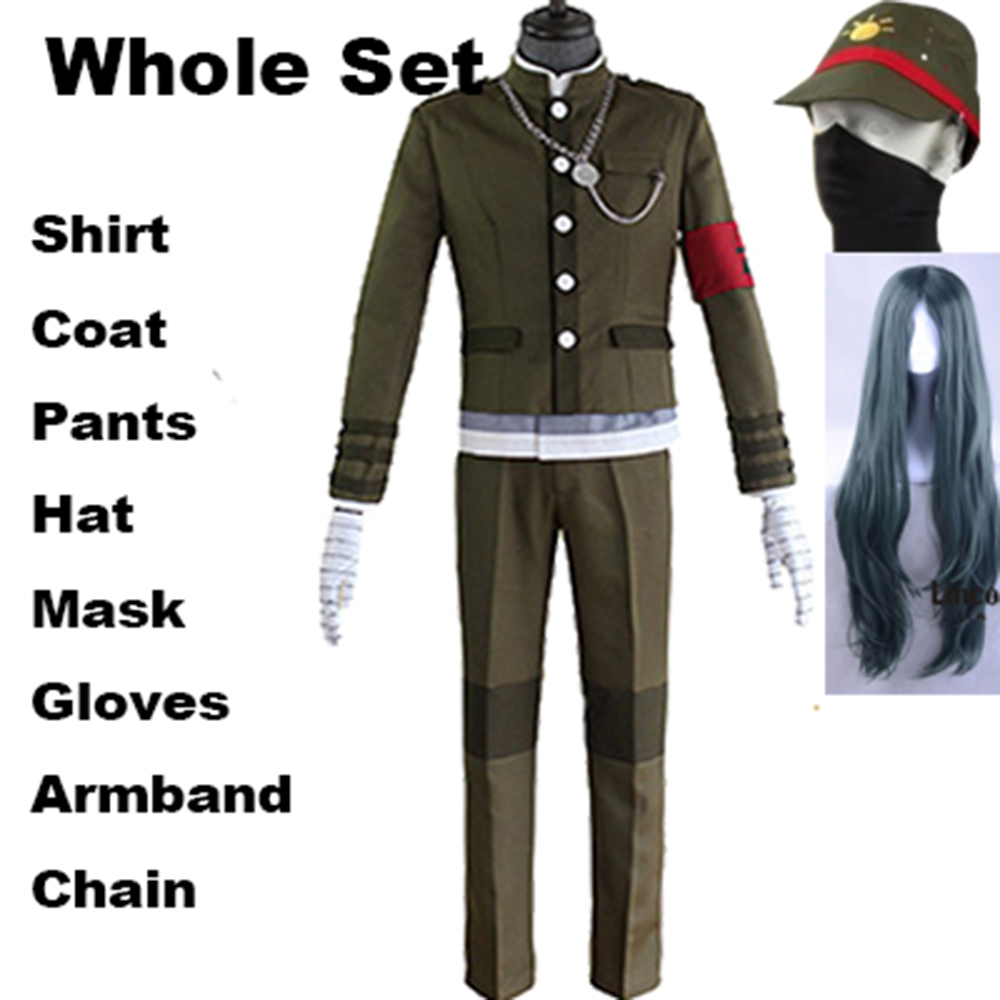 Details about  /Hot! Danganronpa v3 Korekiyo Shinguji Cosplay Costume School Uniform Unisex