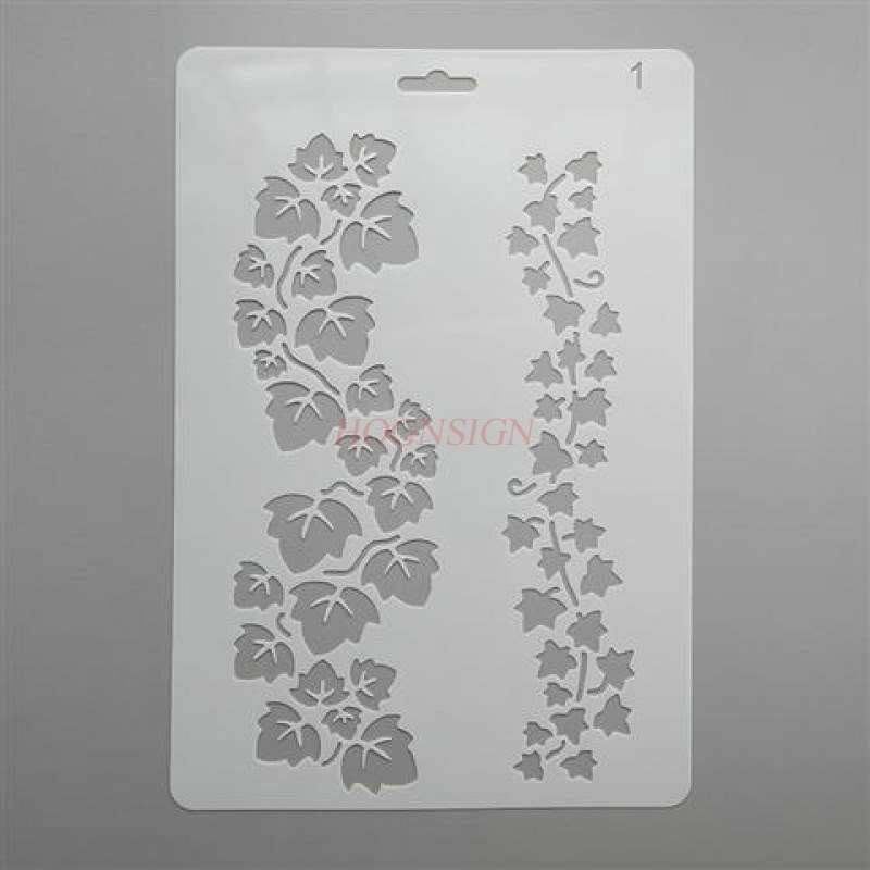 Lace Ruler Template Manual Album Hand Book Artifact Drawing Board Hollow Stencil Drawing Tools