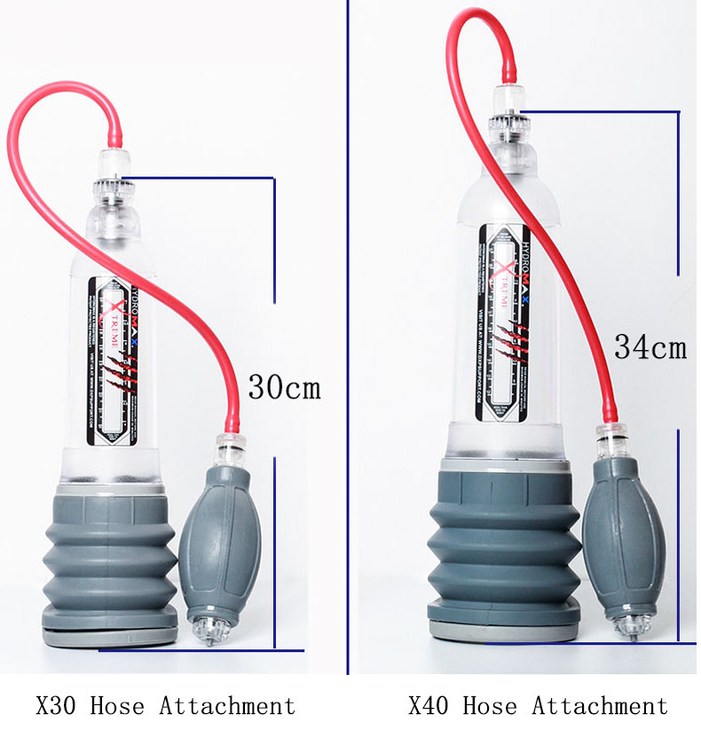 Hydrotherapy X20 X30 X40 Xtreme Penis Pump Penis Enlargement Cock Pro Extender Vacuum Pump For Men Dick Erection Assisting in Instrument Parts Accessories from Tools