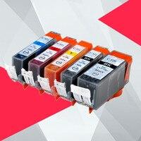 PGI-520 CLI-521 чернильный картридж для принтера Canon pgi520 Pixma MP540 MP550 MP560 MP620 MP630 MP640 MP980 MP990 MX860 MX870 IP3600 pgi 520