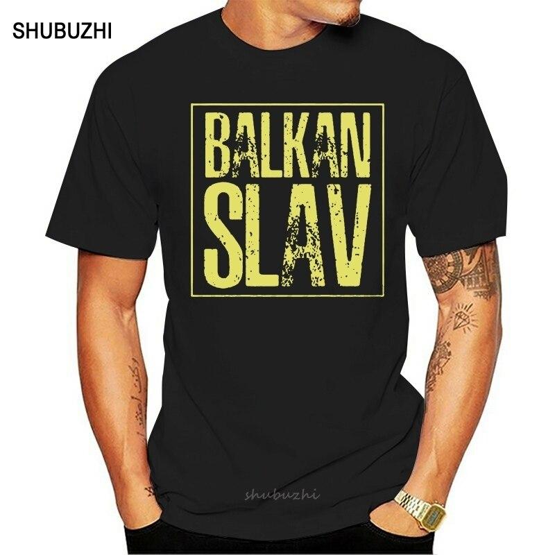Men tshirt balkan slav slavic croatia serbia bosnia russia yugoslavia T Shirt Printed T-Shirt tees top