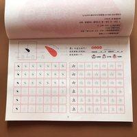 Caneta lápis personagem chinês han zi miao hong exercício workbook para crianças crianças idade educacional precoce 3 6      -