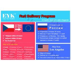 Image 5 - Eyk EU 62真の多様性2ハンドヘルドuhfワイヤレスマイク2*100チャンネル選択可能な周波数最適ステージボーカルコンサート