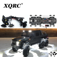 XQRC Remote Control RC car LED lamp kit, for 1 / 10 RC crawler trx6 g63 6x6 wheel brow lamp waterproof upgrade accessories