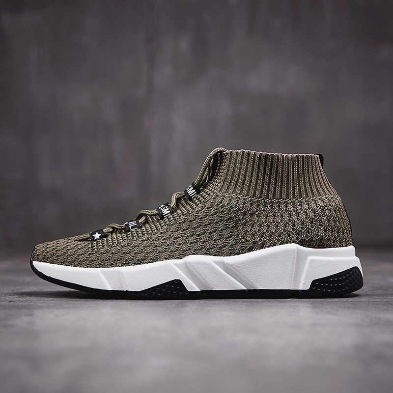 Di Vendita calda casual scarpe uomo Lace Up scarpe scarpe da tennis degli uomini Chunky scarpe da ginnastica uomo scarpe da tennis della piattaforma Del Progettista Commercio All'ingrosso krasovki X-014