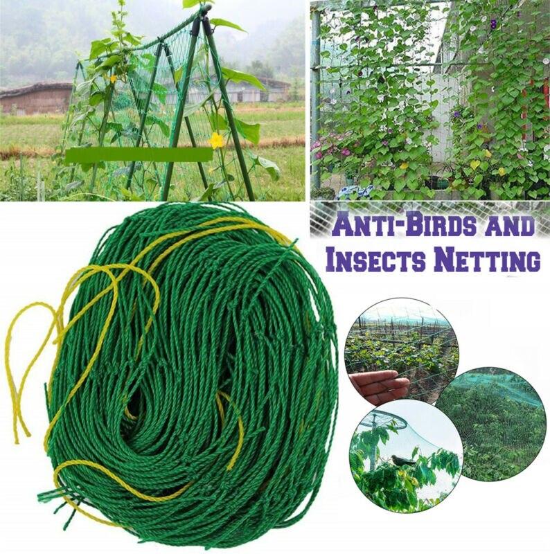 Durable Nylon Mesh Anti Bird Pest Net Pond Net Garden Fruit Tree Vegetables Plant Support For Climbing Orchard Protection Net