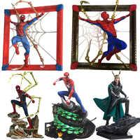Marvel Comics spiderman Loki Ragnarokr figura de acción 25cm Loki de Los Vengadores figuras de acción juguete figura de Anime juguetes para niños regalos