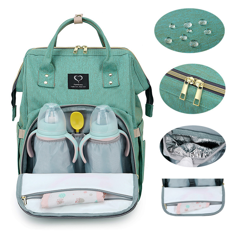 Maternity Bag Baby Diaper Bag Backpack Stroller Bags USB Large Capacity Waterproof Nappy Bags Kits Moms Travel Nursing Handbag