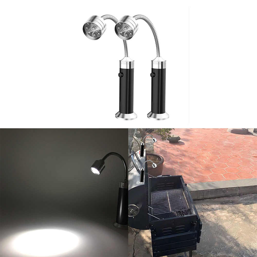 Grill Light BBQ Outdoor Super Magnetic Bright LED Lamp Base For Barbecue FG