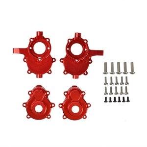2 шт алюминиевый сплав передний Внешний портал корпус набор для Redcat GEN8 RER11406 RER11333 1/10 RC Гусеничный