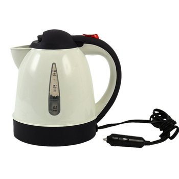 1000ML Hot Kettle Car Portable Water Heater Auto Travel for The Cafe 304 Stainless Steel Large Capacity russian large capacity insulated stainless steel bottle outdoor portable travel kettle car kettle