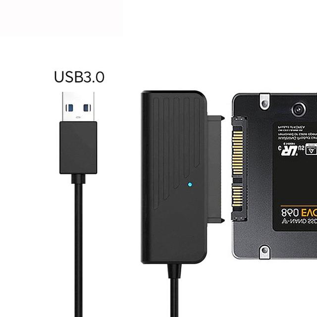 محول HDD من usb 3.0 إلى كابل محول من النوع C إلى SATA3 ، 2.5 بوصة SATA ، قرص صلب SSD ، 5 جيجابت في الثانية ، JMS578