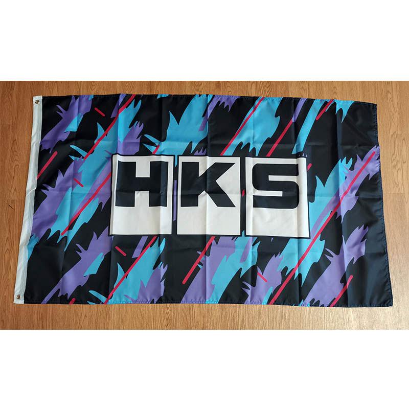 HKS Печатный 2x3 фута/3x5 футов Размер украшения для дома полиэстер флаг баннер рождественские подарки