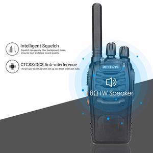 Image 4 - PMR Radio Walkie Talkie 4pcs RETEVIS H777 Plus PMR446 H777 FRS Two Way Radio USB Charger Portable Walkie talkies for Hunting