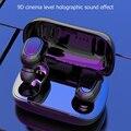 Bluetooth 5,0 Ohrhörer Wahre Wireless Stereo Wasserdichte L21 TWS Headset mit Mic für Outdoor Angenehm Kopfhörer Ornament
