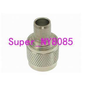 Image 5 - 10 stücke Stecker N männlichen Stecker crimp RG8 RG213 RG165 LMR400 7D FB kabel gerade