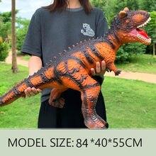 Grand modèle de dinosaure en plastique, 84cm, requin, tyrannosaure Rex Raptor, parc du monde, jouet de nouvel an pour enfants