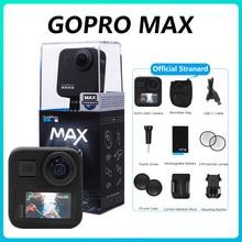 GoPro MAX – caméra d'action 360, avec écran tactile sphérique 16MP 5.6K30 1080P HD, vidéo en direct, pour le sport, insta 360 X2