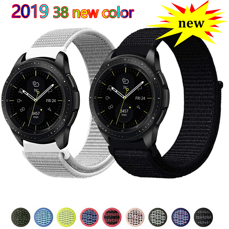 20mm 22mm Watch Band For Galaxy Watch 46mm 42mm Samsung Gear S3 Frontier S2 Pulseira Bracelet Huawei Watch Gt Strap Amazfit Bip