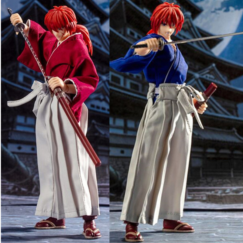 Action & Toy Figures DASIN anime Rurouni Kenshin HIMURA KENSHIN pvc action figure GT model toy