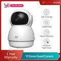 YI купольная охранная камера 1080P WIFI домашняя IP-камера с AI-функциями система видеонаблюдения