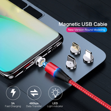 5A Magnetic Cable Micro Usb Type C Super Fast Charging Phone Microusb Type-C Magnet Charger Usb C for Iphone X Huawei Xiaomi magnetic usb cable micro usb usb c fast charging mobile phone magnet charger cable for iphone 11 xr huawei p30 microusb u type c