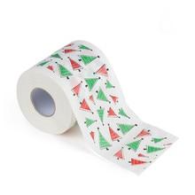 Christmas Toilet Roll Paper Home Santa Claus Bath Supplies Xmas Decor Tissue DIY