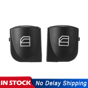 Window Switch Cover Power Window Button Switch Cover Caps For Mercedes W203 C-CLASS C320 C230 C240 C280 image