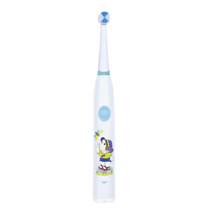 SANQ Creative Cartoon Children'S Music Electric Toothbrush Oral Health Soft Toothbrush Automatic Sonic Electric Toothbrush Toi image