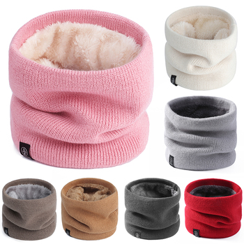 Winter cotton snood ring skullies winter man scarf woman knit beanie Baggy slouchy black popular personalized 2020