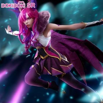 цена DokiDoki-SR Game League of Legends Cosplay Xayah Star Guardian Costume Women Girl Xayah Cosplay League of Legends Costume LOL онлайн в 2017 году