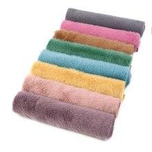 David acessórios 20*33cm cor lisa veludo poliéster tecido diy arco saco costura roupas material decoração para casa, 1yc8108