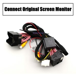 Image 3 - AUTO CAM Decoder Adapter Car Rear Camera For Audi A6 (C7) 2009~2020 Original 8 inch Display Upgrading Parking Assist System